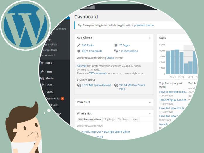 Dashboard WordPress che cos'è e quali sono le sue funzionalità Osting.it